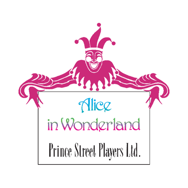 MTI Alice in Wonderland Prince Street Players Version Logo
