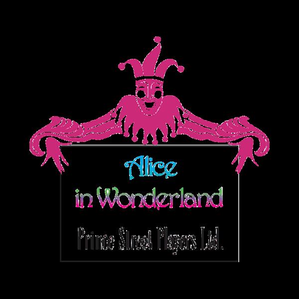 MTI Alice in Wonderland Prince Street Players Version Logo