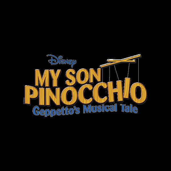 MTI My Son Pinocchio Geppetto's Musical Tale Logo