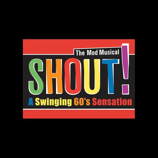 MTI Shout The Mod Musical Logo