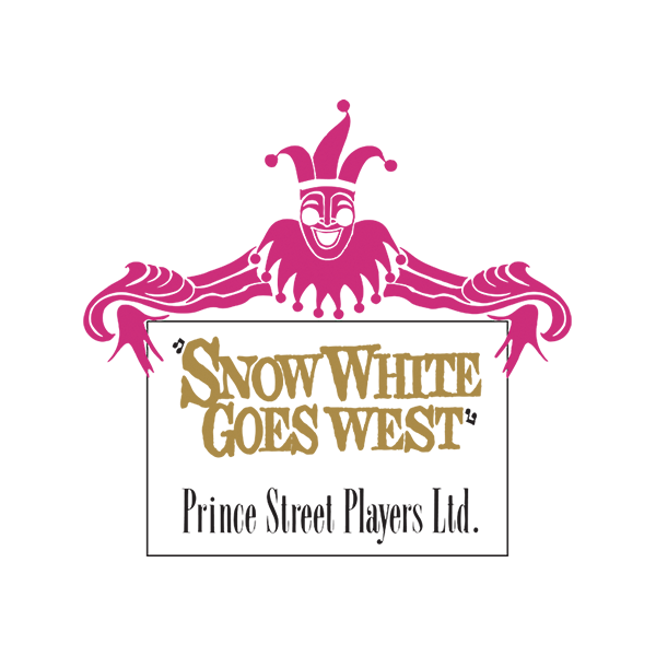 MTI Snow White Goes West Prince Street Players Version Logo