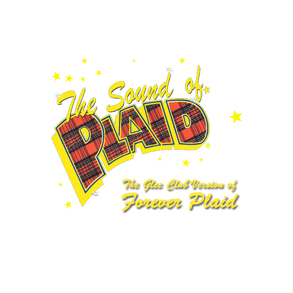 MTI The Sound of Plaid The Glee Club Version of Forever Plaid Logo