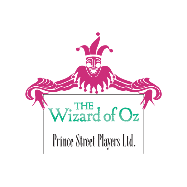 MTI The Wizard of Oz Prince Street Players Version Logo