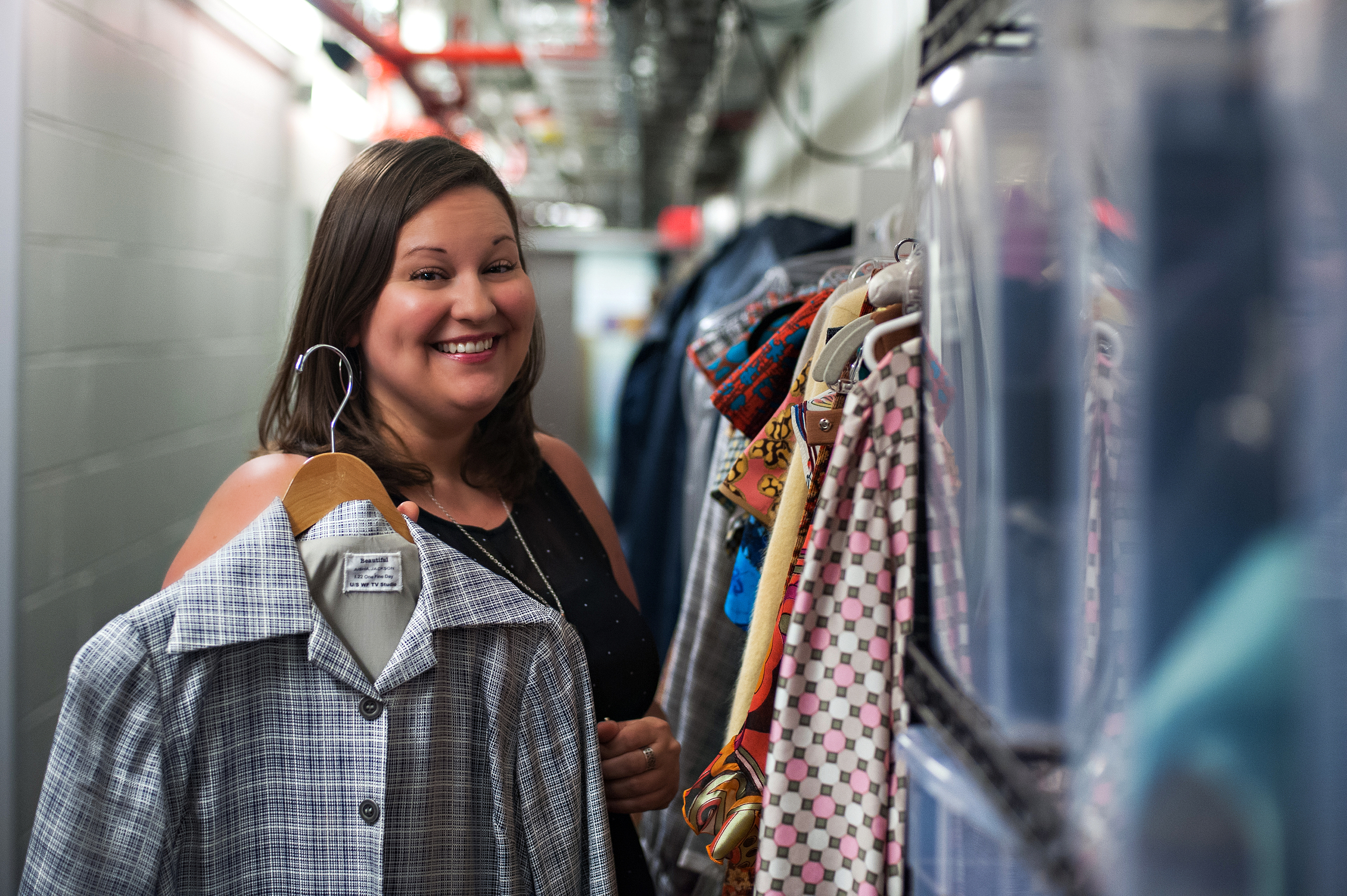 Shana Albery Broadway Wardrobe Supervisor Backstage Image