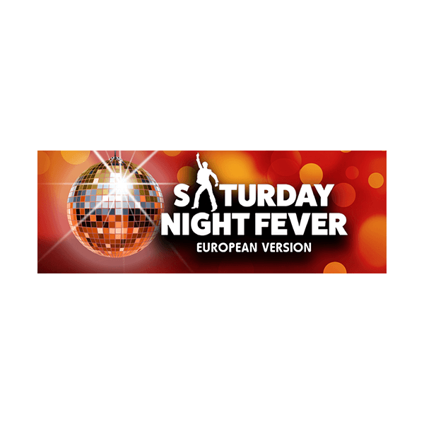 TRW Saturday Night Fever - European Version Logo