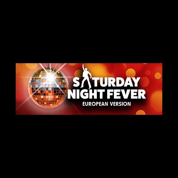 TRW Saturday Night Fever - European Version Logo