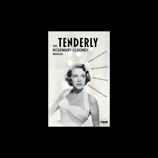 TRW Tenderly the Rosemary Clooney Musical Logo