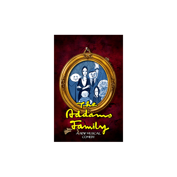 TRW The Addams Family - A New Musical Logo
