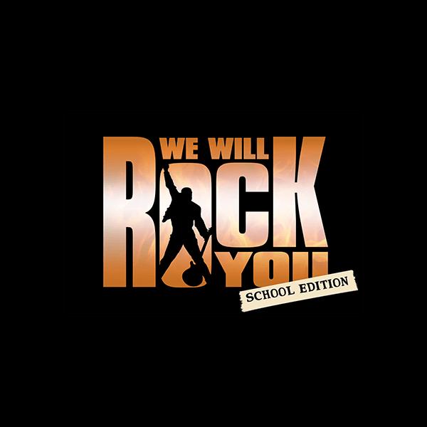 TRW We Will Rock You School Edition Logo