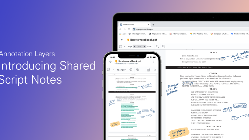 annotation layers and sharing